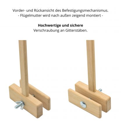 Halterungsplatte des Mobilehalters von Hobicht.